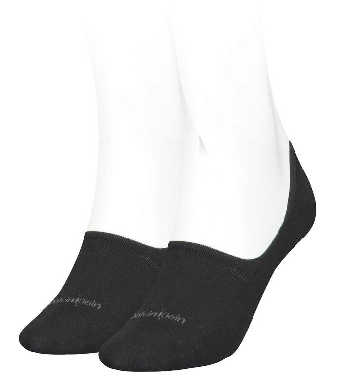 Calvin Klein W Footie Mid Cut 2P 701218771001035