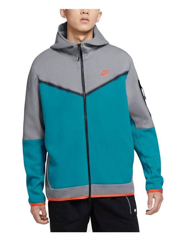 Nike M NSW TCH FLC HOODIE FZ WR CU4489-012