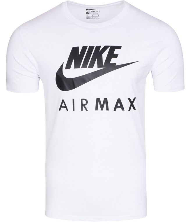 Nike Air Max Logo Mens White T Shirt 809247-100